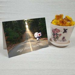 کارت پستال عاشقانه کد 3021 کلاسیک