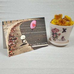 کارت پستال عاشقانه کد 3022 کلاسیک