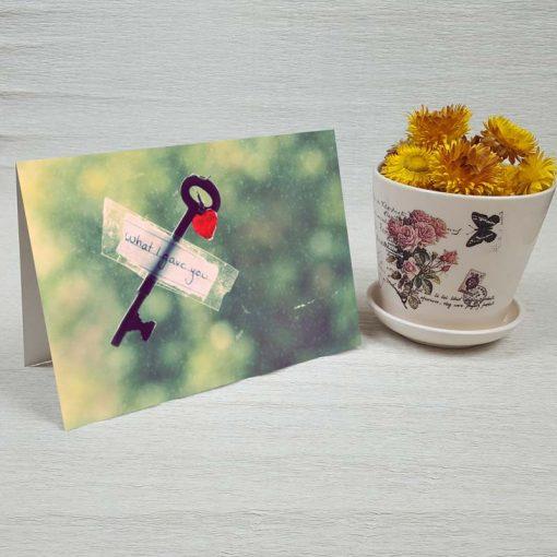 کارت پستال عاشقانه کد 3024 کلاسیک