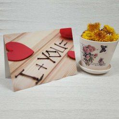 کارت پستال عاشقانه کد 3027 کلاسیک