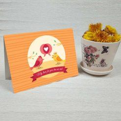 کارت پستال عاشقانه کد 3036 کلاسیک