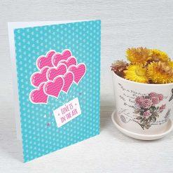 کارت پستال عاشقانه کد 3038 کلاسیک