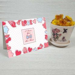 کارت پستال عاشقانه کد 3039 کلاسیک