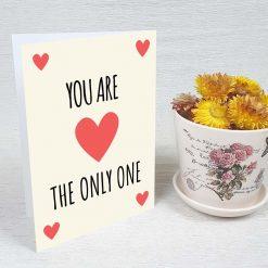کارت پستال عاشقانه کد 3045 کلاسیک