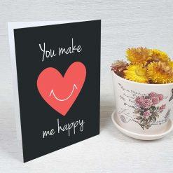 کارت پستال عاشقانه کد 3046 کلاسیک