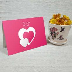 کارت پستال عاشقانه کد 3048 کلاسیک
