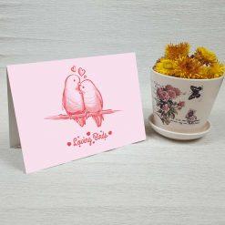 کارت پستال عاشقانه کد 3049 کلاسیک