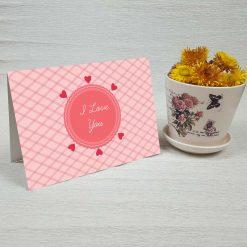 کارت پستال عاشقانه کد 3055 کلاسیک