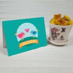 کارت پستال عاشقانه کد 3058 کلاسیک