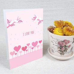 کارت پستال عاشقانه کد 3060 کلاسیک
