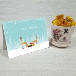 کارت پستال کریسمس کد 4356 کلاسیک