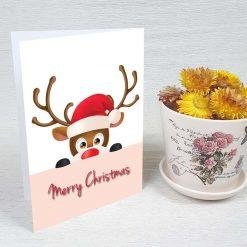 کارت پستال کریسمس کد 3560 کلاسیک