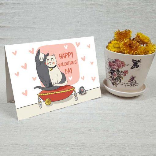 کارت پستال عاشقانه کد 3580 کلاسیک