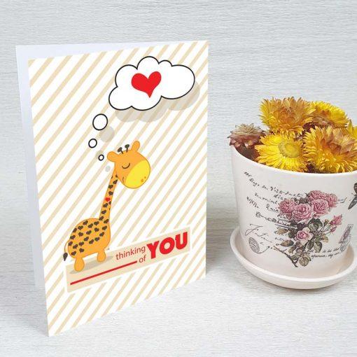 کارت پستال عاشقانه کد 3583 کلاسیک