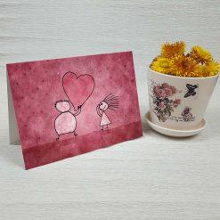 کارت پستال عاشقانه کد 3597 کلاسیک