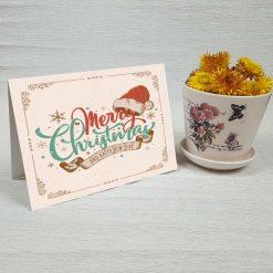 کارت پستال کریسمس کد 3974 کلاسیک