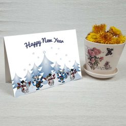 کارت پستال کریسمس کد 3975 کلاسیک