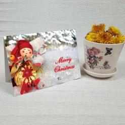 کارت پستال کریسمس کد 3977 کلاسیک