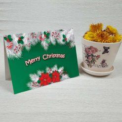 کارت پستال کریسمس کد 4350 کلاسیک