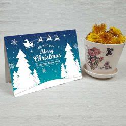 کارت پستال کریسمس کد 4352 کلاسیک