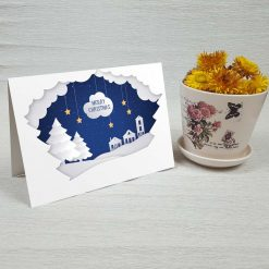 کارت پستال کریسمس کد 4353 کلاسیک