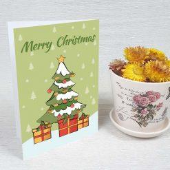 کارت پستال کریسمس کد 4663 کلاسیک