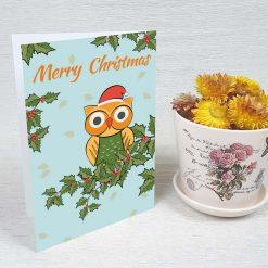 کارت پستال کریسمس کد 4664 کلاسیک