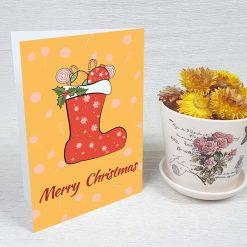 کارت پستال کریسمس کد 4665 کلاسیک