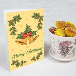 کارت پستال کریسمس کد 4667 کلاسیک