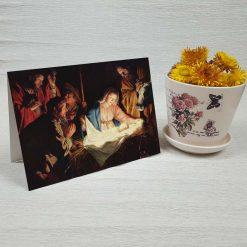 کارت پستال کریسمس کد 4675 کلاسیک