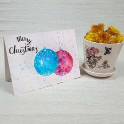 کارت پستال کریسمس کد 4677 کلاسیک