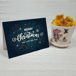 کارت پستال کریسمس کد 4680 کلاسیک
