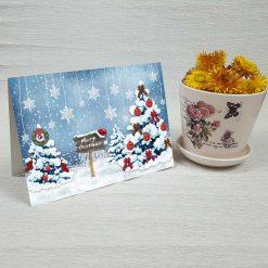 کارت پستال کریسمس کد 4683 کلاسیک