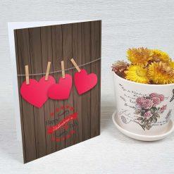 کارت پستال ولنتاین کد 2012 کلاسیک
