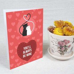 کارت پستال عاشقانه کد 3592 کلاسیک