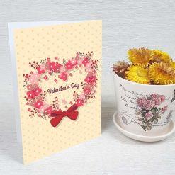 کارت پستال ولنتاین کد 2054 کلاسیک