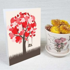 کارت پستال عاشقانه کد 3588 کلاسیک
