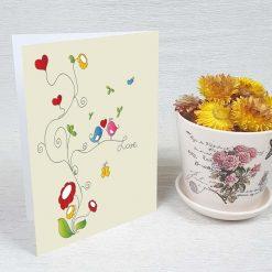 کارت پستال عاشقانه کد 3582 کلاسیک
