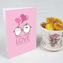 کارت پستال عاشقانه کد 3577 کلاسیک