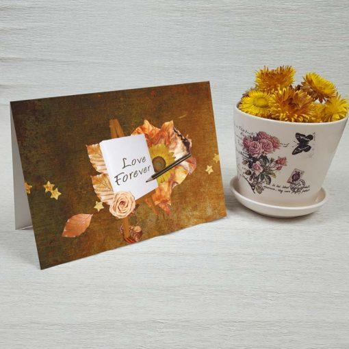 کارت پستال عاشقانه کد 3585 کلاسیک
