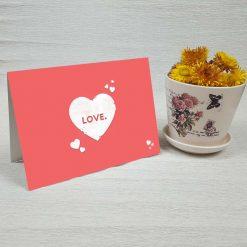کارت پستال عاشقانه کد 3584 کلاسیک