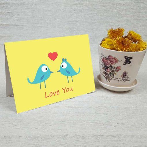 کارت پستال عاشقانه کد 3573 کلاسیک
