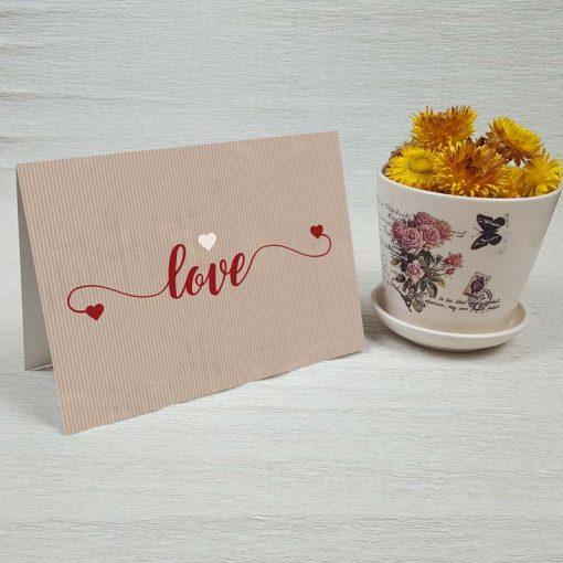 کارت پستال عاشقانه کد 3570 کلاسیک