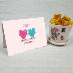 کارت پستال عاشقانه کد 3078 کلاسیک