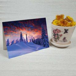 کارت پستال طبیعت کد 4344 کلاسیک