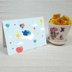 کارت پستال عاشقانه کد 3073 کلاسیک
