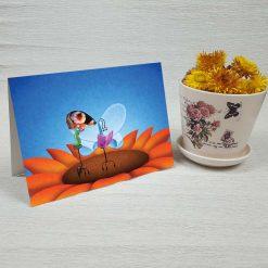 کارت پستال فانتزی کد 2264 کلاسیک