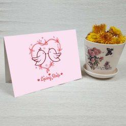 کارت پستال عاشقانه کد 3071 کلاسیک