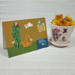 کارت پستال فانتزی کد 2190 کلاسیک