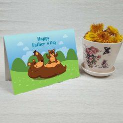 کارت پستال روز پدر کد 3140 کلاسیک